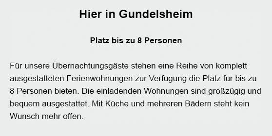 Übernachtung in  Laudenbach