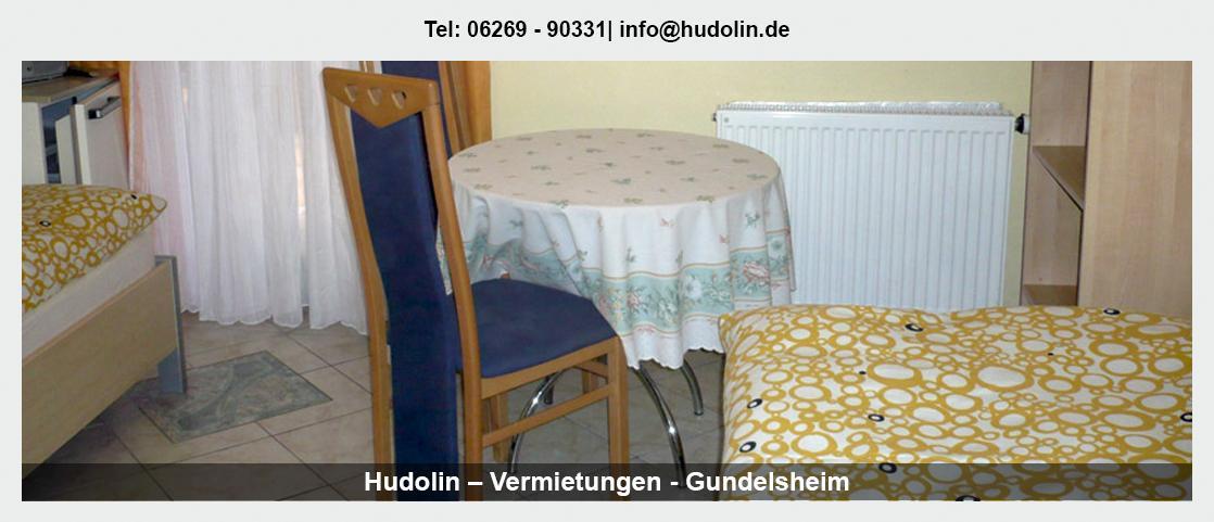 Fremdenzimmer Neckarbischofsheim - Hudolin – Vermietungen: Wohnung mit Selbstverpflegung, Montagezimmer, Ferienapartment,